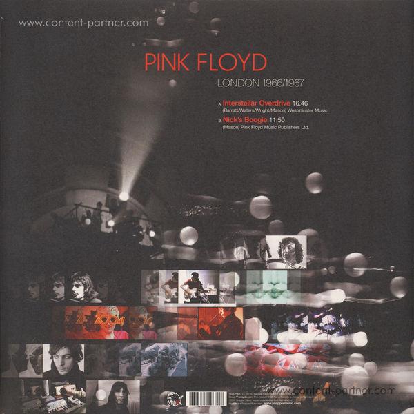 Pink Floyd - London 1966 / 1967 (Back)