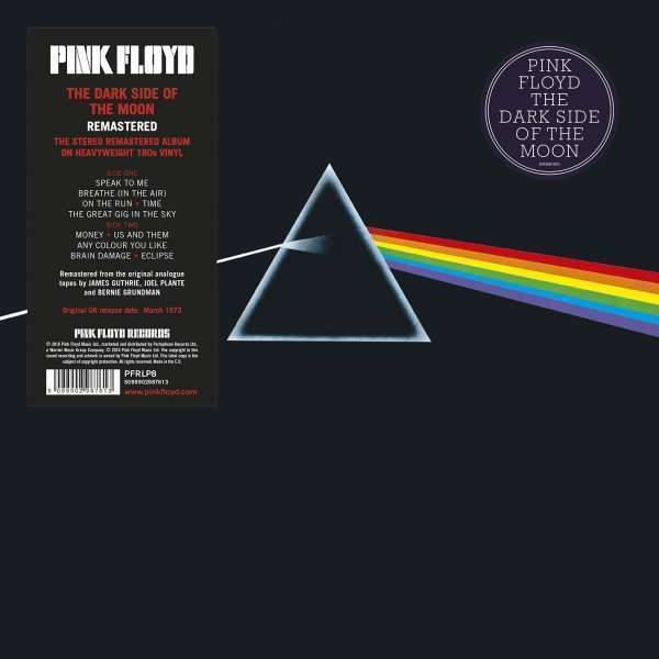 Pink Floyd - The Dark Side of the Moon (Remastered LP)