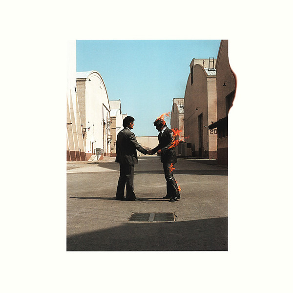 Pink Floyd - Wish You Were Here (180g, remastered 2016) (Back)