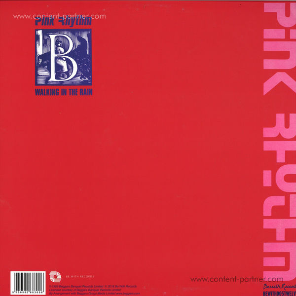 Pink Rhythm - Melodies Of Love (Back)