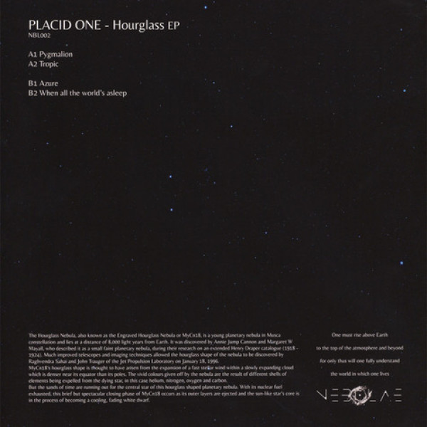 Placid One - Hourglass EP (Back)