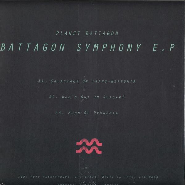 Planet Battagon - Battagon Symphony EP (Back)
