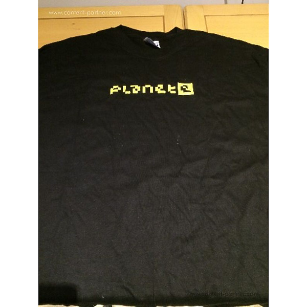 Planet E - Planet E Yellow Logo T-Shirt Size XL