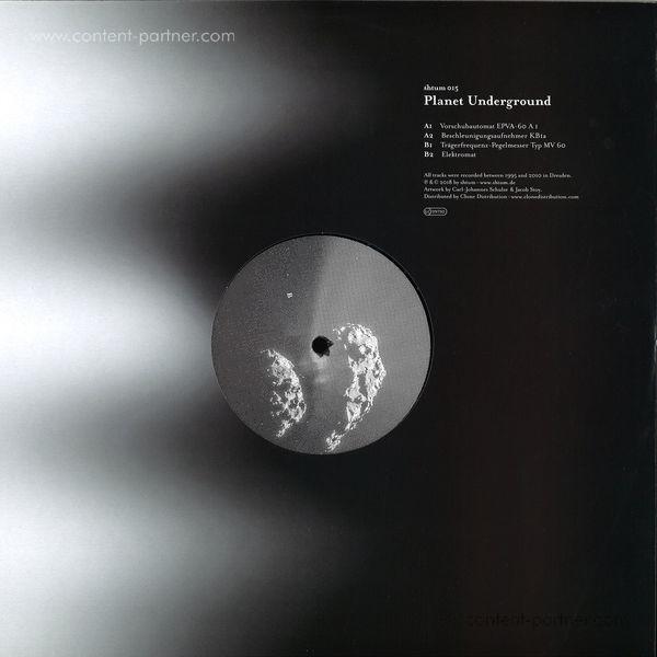 Planet Underground - Shtum 015 (Back)