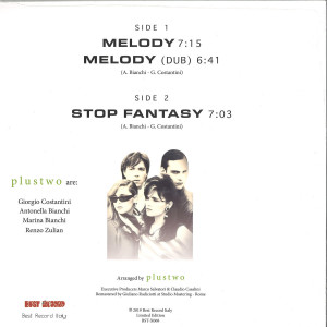 Plustwo - Melody (remastered) (Back)