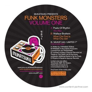 Poets Of Rhythm / Wallace Brothers - Funk Monsters Vol.1