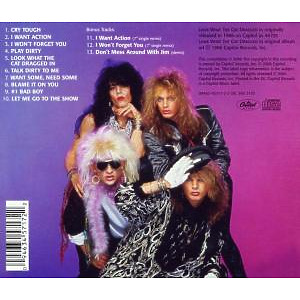Poison - Look What The Cat Dragged In (Back)