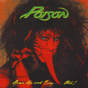 Poison - Open Up And Say . . . Ahh! (Ltd. Red Vinyl Edt.)