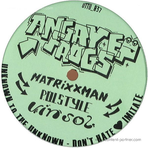 Pol Style, Vin Sol & Matrixxman - The Angry Frogz Ep