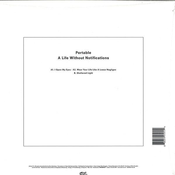 Portable - A Life Without Notifications (Back)