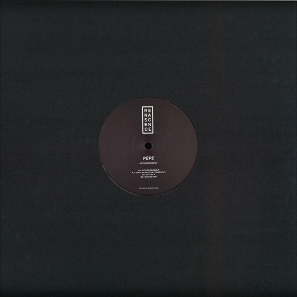 Pépe - Futurepresent EP (Back)