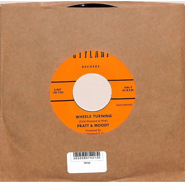 "Pratt & Moody (feat. Cold Diamond & Mink) - Wheels Tunring (7"") (Back)"
