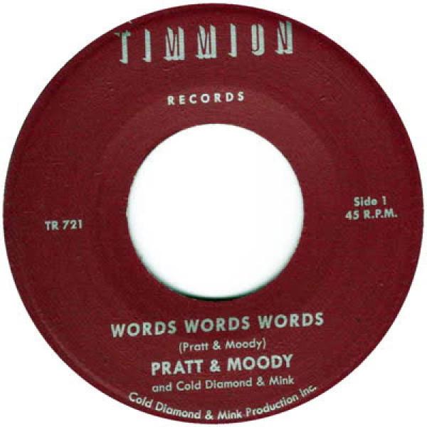 Pratt & Moody - Words Words Words