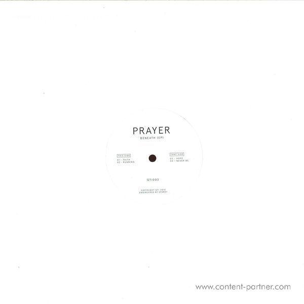 Prayer - Beneath EP (Back)
