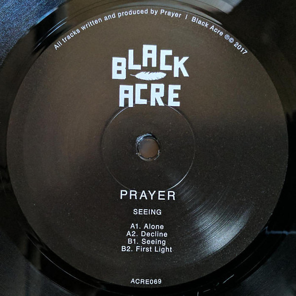 Prayer - Seeing (Back)