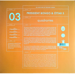 President Bongo & Óttar S - Quadrantes (Back)