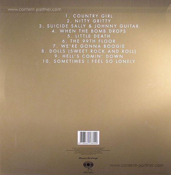 Primal Scream - Riot City Blues (Back)