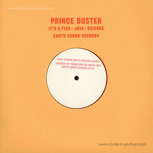 Prince Buster & Senior Pablo - Pablove Black - Its A Fire - Java - Science