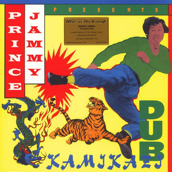 Prince Jammy - Kamikazi Dub (Ltd. Orange Vinyl)