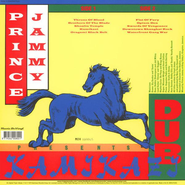 Prince Jammy - Kamikazi Dub (Ltd. Orange Vinyl) (Back)
