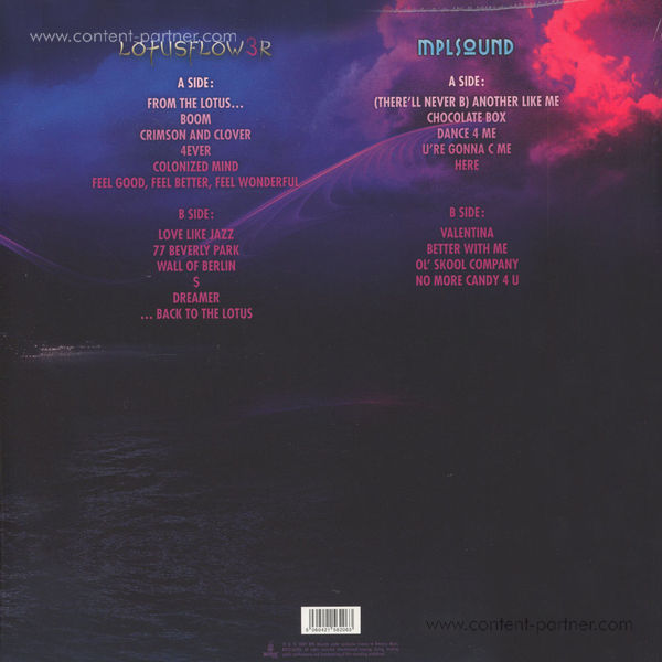 Prince - Lotus Flow3r (Back)