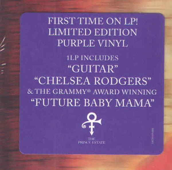 Prince - Planet Earth (Ltd. Purple 2LP) (Back)
