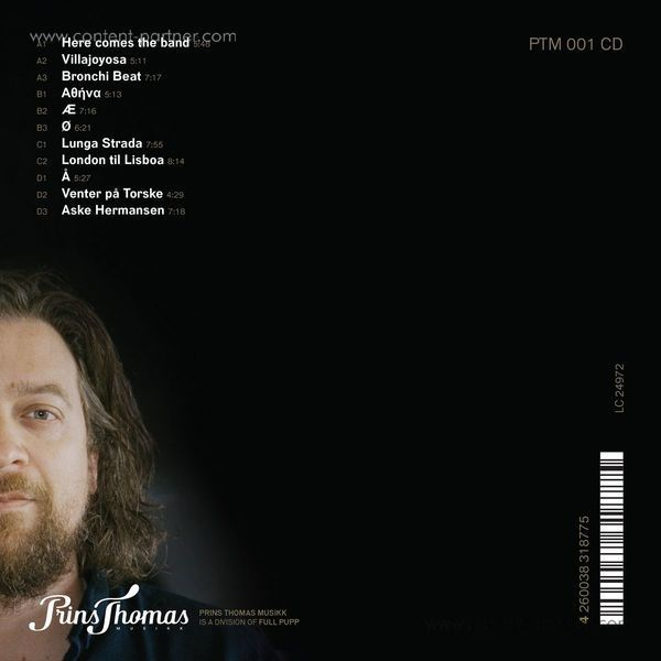 Prins Thomas - Prins Thomas 5 (2LP+MP3) (Back)