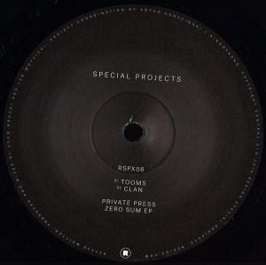 Private Press - Zero Sum EP