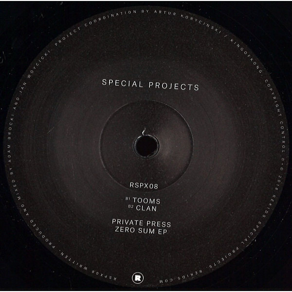 Private Press - Zero Sum EP