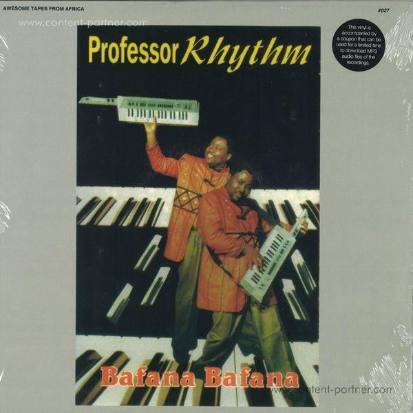 Professor Rhythm - Bafana Bafana (LP) (Back)