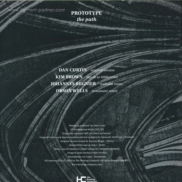 Prototype - The Path (Back)