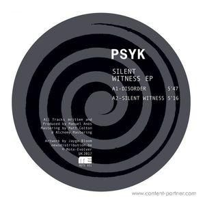 Psyk - Slient Witness EP