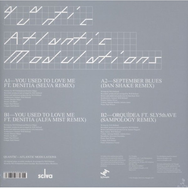 Quantic - Atlantic Modulations (Back)