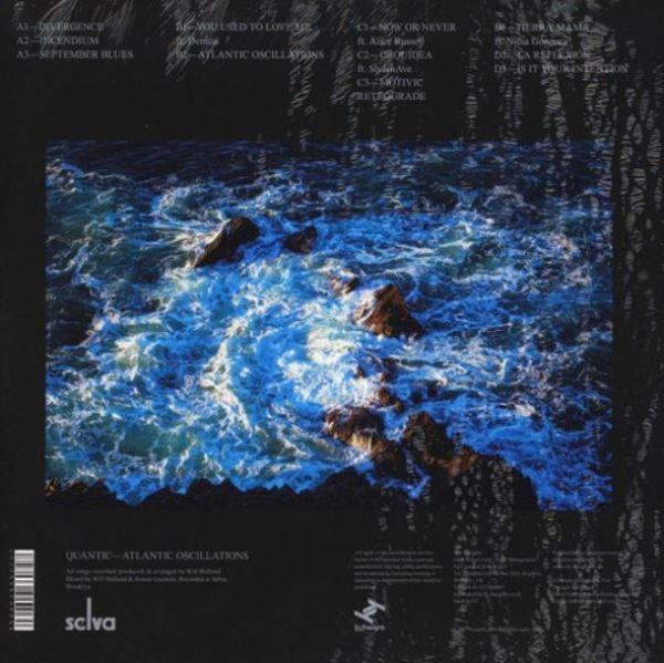 Quantic - Atlantic Oscillations (2LP+MP3) (Back)
