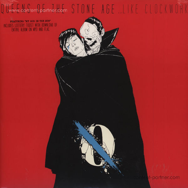 Queens Of The Stone Age - ...Like Clockwork (2LP + MP3) (Back)