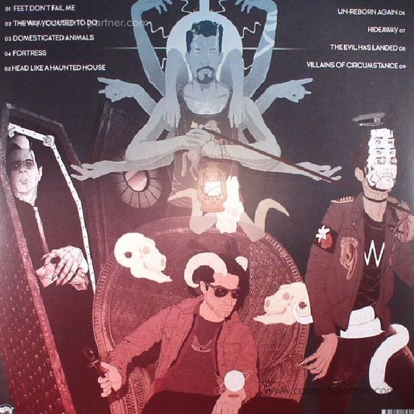 Queens Of The Stone Age - Villains (2LP + MP3) (Back)