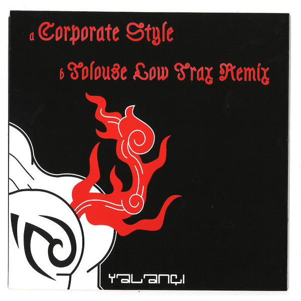 R. Bakaite - Corporate Style (Tolouse Low Trax Remix) (Back)