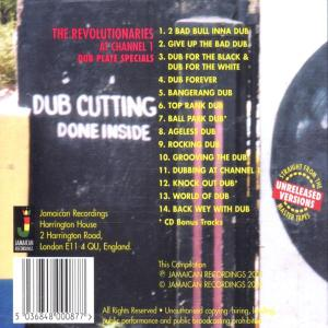 REVOLUTIONARIES,THE - At Channel 1-Dub Plate Specials (Back)