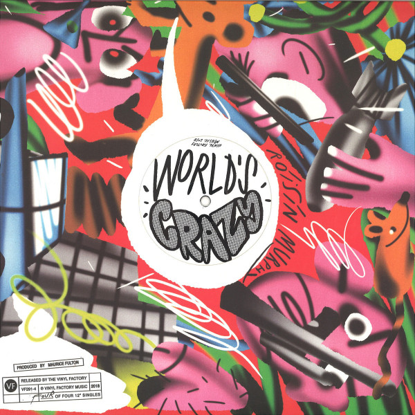 RÓISÍN MURPHY - THE RUMBLE / WORLD'S CRAZY (PRODUCED BY MAURICE FU