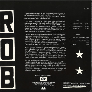 ROB - ROB (LP REISSUE) (Back)