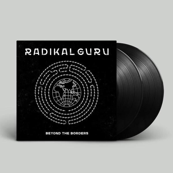 Radikal Guru - Beyond The Borders LP [printed sleeve / 180 grams (Back)
