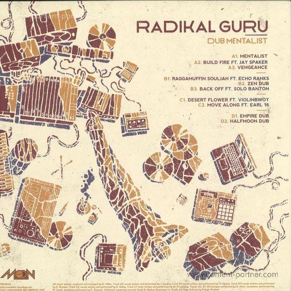 Radikal Guru - Dub Mentalist (Back)