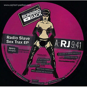 Radio Slave - Sex Trax Ep (Repress)