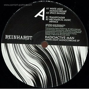 Radioactive Man - White Light Monochrome EP