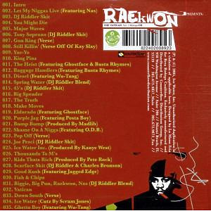 Raekwon - The Vatican Mixtape Vol.1 (Back)