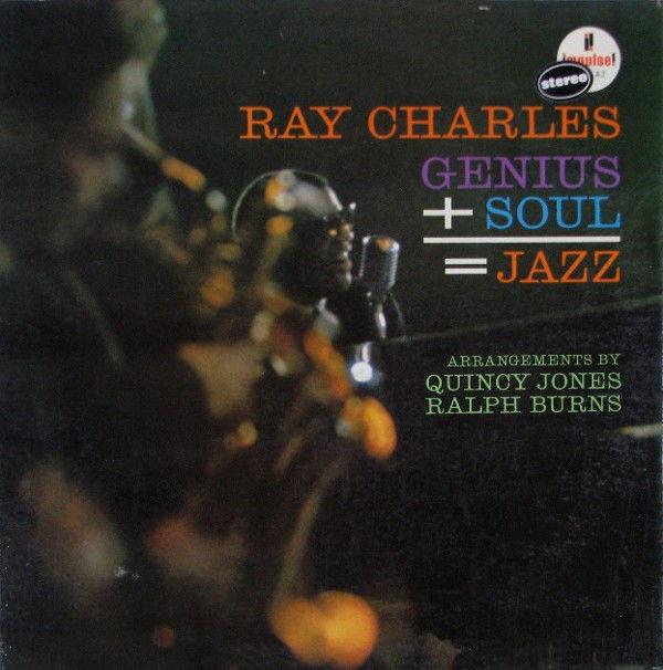 Ray Charles - Genius + Soul = Jazz (LP)