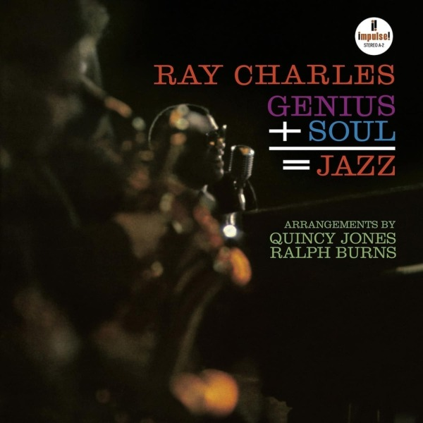 Ray Charles - Genius+Soul = Jazz (Acoustic Sounds Series) (Back)