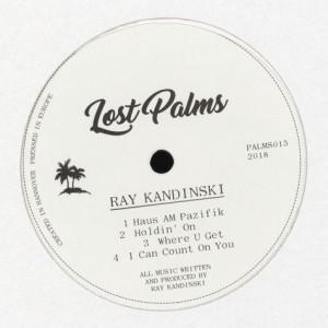 Ray Kandinski - Cressida EP (Back)