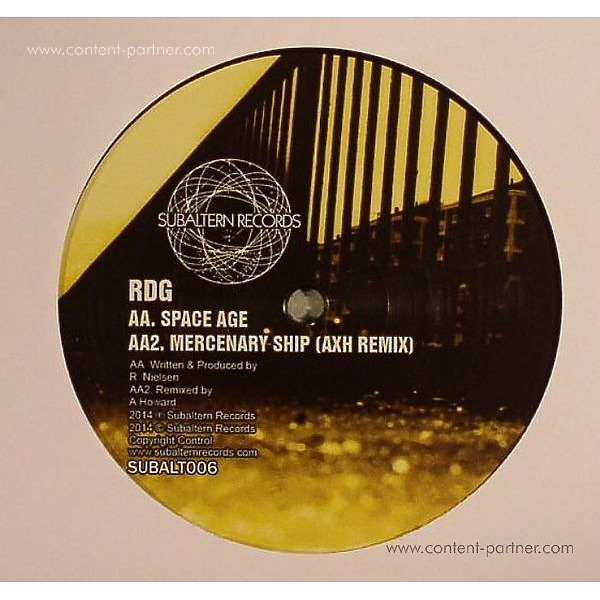 Rdg & Hitman - Mercenary Ship Ep (Back)