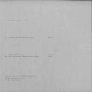 Recondite - Daemmerlicht Remixes (Back)